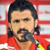 Gennaro Gattusoneuer Milan-Coach