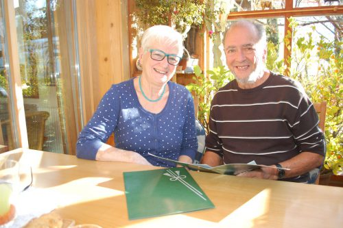 Helene und Franz Rüdisser erhielten für ihre modernen Mundartgedichte eine hohe Auszeichnung. Str