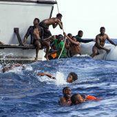 Heuer fast 3000 Flüchtlinge im Mittelmeer ertrunken