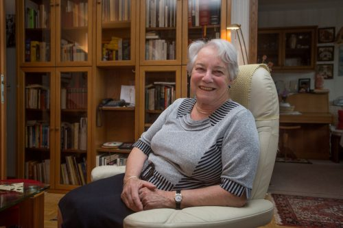 Hildegard Pfanner ist auch als Pensionistin ein reger Geist geblieben. VN/Paulitsch