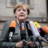 Merkel mahnt Jamaika-Partner zu Kompromissbereitschaft