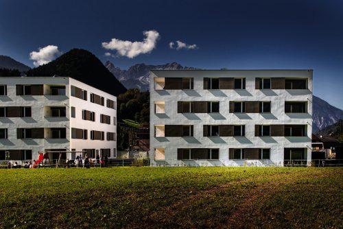 In der Schrunser Batloggstraße entstanden 32 Wohnungen. Vogewosi