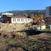 Baustart für Projekt  Bäumlequartier