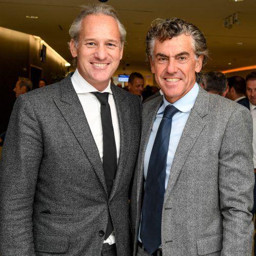 IV-Präsident Martin Ohneberg und Unternehmer Michael Tojner.VN/Lerch