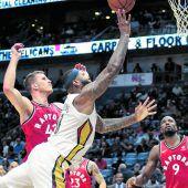 Toronto siegte auchin New Orleans