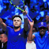 Alles offen nach Tag eins im Daviscup