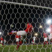 Schweiz zum vierten Mal in Serie bei einer WM-Endrunde
