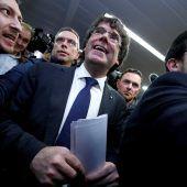 Europäischer Haftbefehl gegen Puigdemont