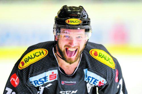 Kevin Macierzynski führte mit seinem Treffer zum 1:0 die Bulldogs in Zagreb auf die Siegerstraße. gepa
