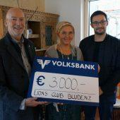 Bludenzer Lions spenden 3000 Euro