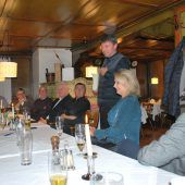 Kurt Fischer brachte den Kiwaniern sein Dorf näher