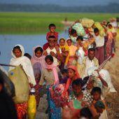Ruf nach Ende der Gewalt gegen Rohingya in Myanmar