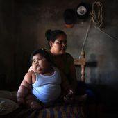 Baby bringt 28 Kilo auf die Waage