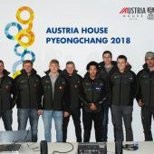 Acht Vorarlberger Lehrlinge haben eine Baustelle in Pyeongchang