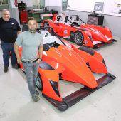 Eine neue Bergrakete von Pedrazza Racing
