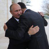 Einsatz in Syrien für Putin fast beendet
