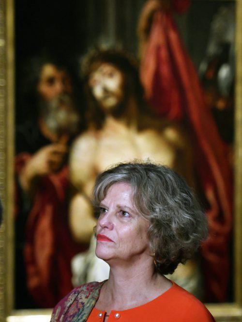 """Sabine Haag stellte in ihrem letzten Jahr als Generaldirektorin das Programm vor. Derzeit ist die Ausstellung """"Peter Paul Rubens – Kraft der Verwandlung"""" zu sehen."""