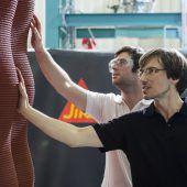 Mörtel aus Bings für Bauwerke aus dem 3D-Drucker