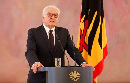 Steinmeier appellierte an die Parteien, ihre Verantwortung wahrzunehmen. reuters