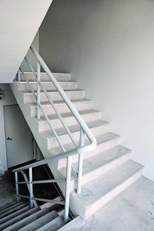 Stiegenhäuser sind freizuhaltende Areale und Fluchtwege.foto: shutterstock