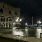 Venedig steht unter Wasser