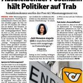 Landtag fordert Kontrolle bei der Post