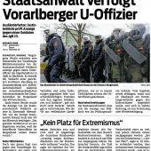 Nicht nur Ausländerhetze: Ermittlungen gegen Kadersoldat