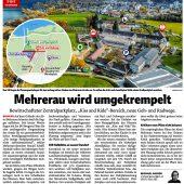 Bregenz bittet Land bei zentralem Parkplatz der Mehrerau um Hilfe