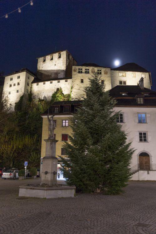 Zum 800-Jahre-Jubiläum von Feldkirch wurde die Schattenburg energieeffizient ins Licht gerückt. Stiplovsek
