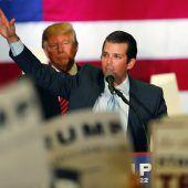Trumps Sohn stand im Kontakt mit Wikileaks