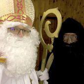 Der heilige Nikolaus besuchte in Vandans 33 Familien