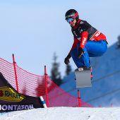 Alessandro Hämmerle knallte die Bestzeit in den Schnee