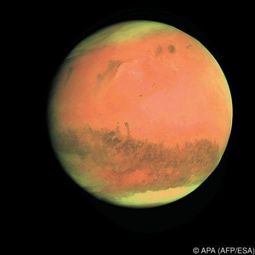 Am 31. Juli kommt der Mars der Erde so nah wie selten. APA