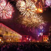 Silvesterfeier am Kirchplatz
