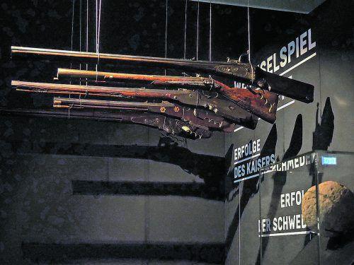 Auch originale Waffen aus den Kriegsjahren sind in Ravensburg zu sehen.HV