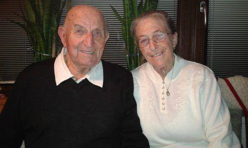 Auf 60 arbeitsreiche, aber glückliche Jahre blicken Maria und Robert Stecher zurück. kl