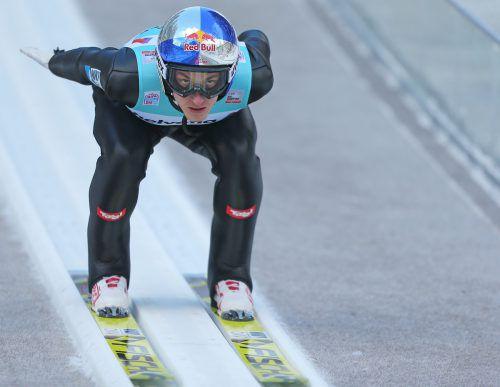 Auf Gregor Schlierenzauer wartet mit der Vierschanzentournee der erste Höhepunkt in der Olympiasaison. GEPA