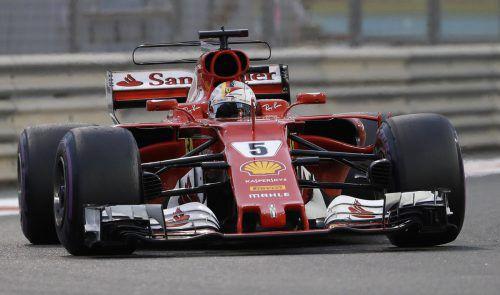Beginn der Formel-1-Saison 2018 ist am 25. März im australischen Melbourne.afp