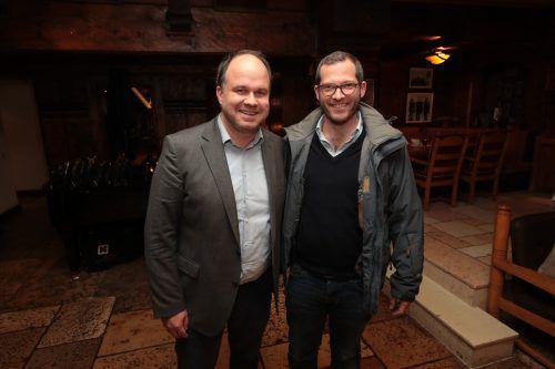 Chefredakteure Gerold Riedmann (VN) und Julian Reichelt (BILD).