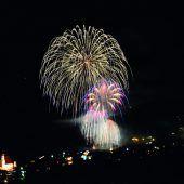 Neujahrsklangfeuerwerk im Montafon