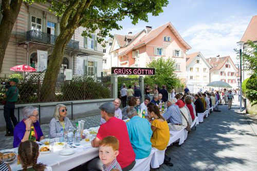 Das Nachkommentreffen mit rund 180 internationalen Teilnehmern versteht sich auch als Symbol der lebendigen Verbindung Vorarlbergs zur Welt. JMH/Dietmar Walser