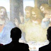 Straßenbahnen fahren für Leonardos Abendmahl langsamer