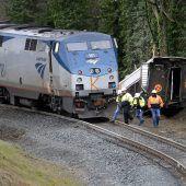 Tote und Verletzte bei schwerem Zugunglück in den USA