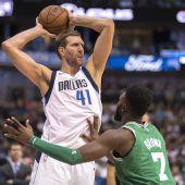Nowitzki plant seine 21. NBA-Saison