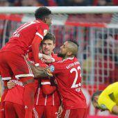 Stöger scheitert mit Dortmund beim FC Bayern München