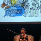 Vorarlberger liest auf der Buchmesse