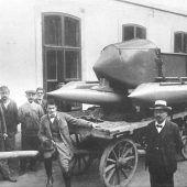 Erinnerung an das Bregenzer Wasserauto