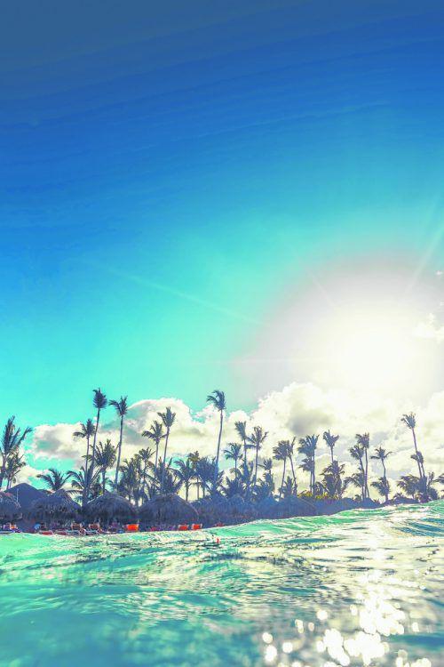 Der Strand von Punta Cana, an der östlichen Spitze der Insel, ist bei Touristen besonders beliebt. Shutterstock (4)