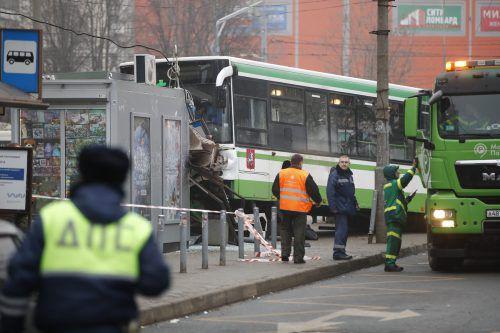 Der Vorfall am Freitag hat in der russischen Hauptstadt große Aufregung auslöst. AP
