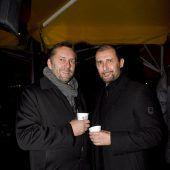 Vorweihnachtlicher Abend im Millennium Park